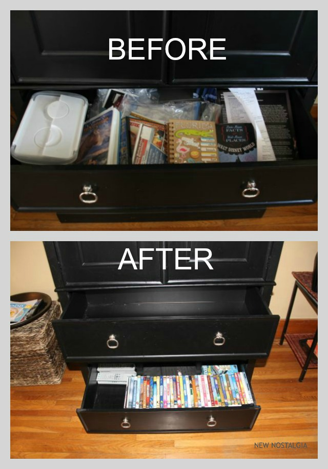 Organizing DVDs