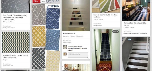 New nostalgia pinterest board floors