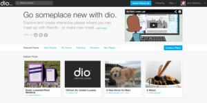 Dio website