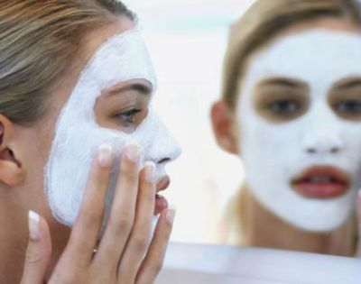 Minimizing pore baking soda mask