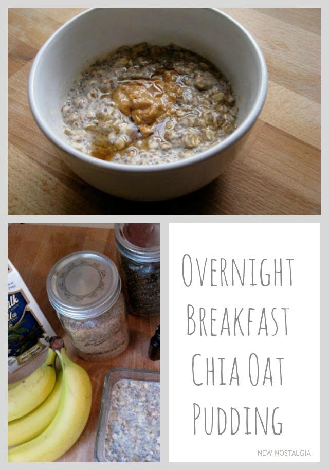 Chia oat pudding