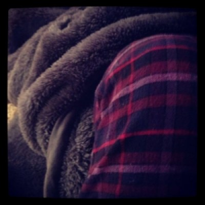 Pajamas and blanket