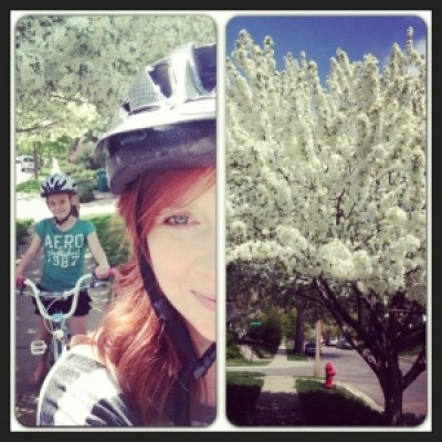 Mother's Day bike ride
