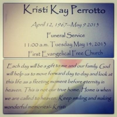 Funeral rememberance