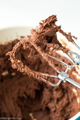 vegan chocolate fudge frosting