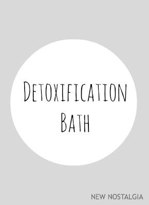 Detoxification bath