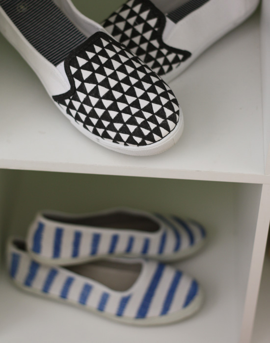Patterned flats