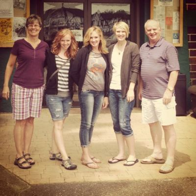 Family by the Minocqua Brewing Company