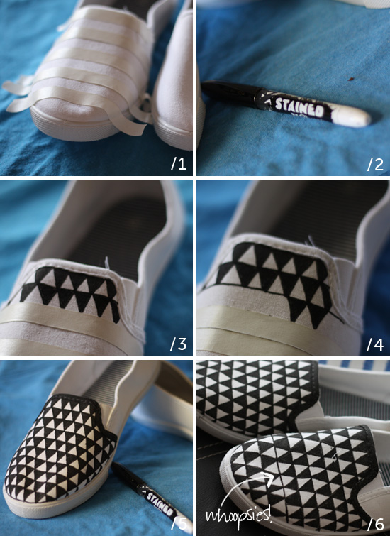 How to make patterned flats