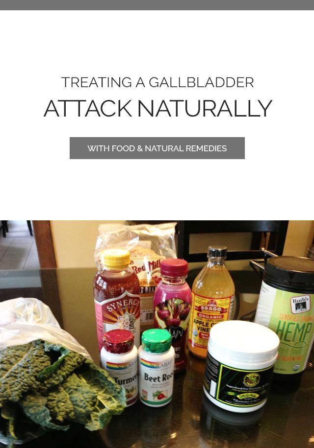Treating A Gallbladder Attack Naturally