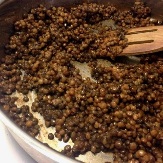 How to make taco seasoned lentils