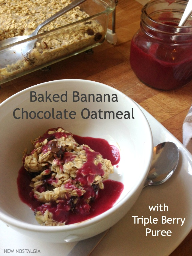 Baked-Banana-Oatmeal-Triple-Berry-Puree-Pinterest