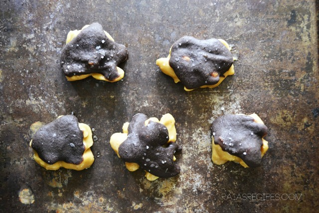Raia's Recipe Dark Chocolate Peanut Turtles