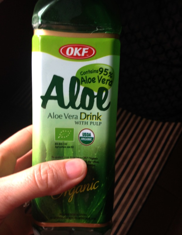 SWEET TART SMOOTHIE ALOE VERA JUICE