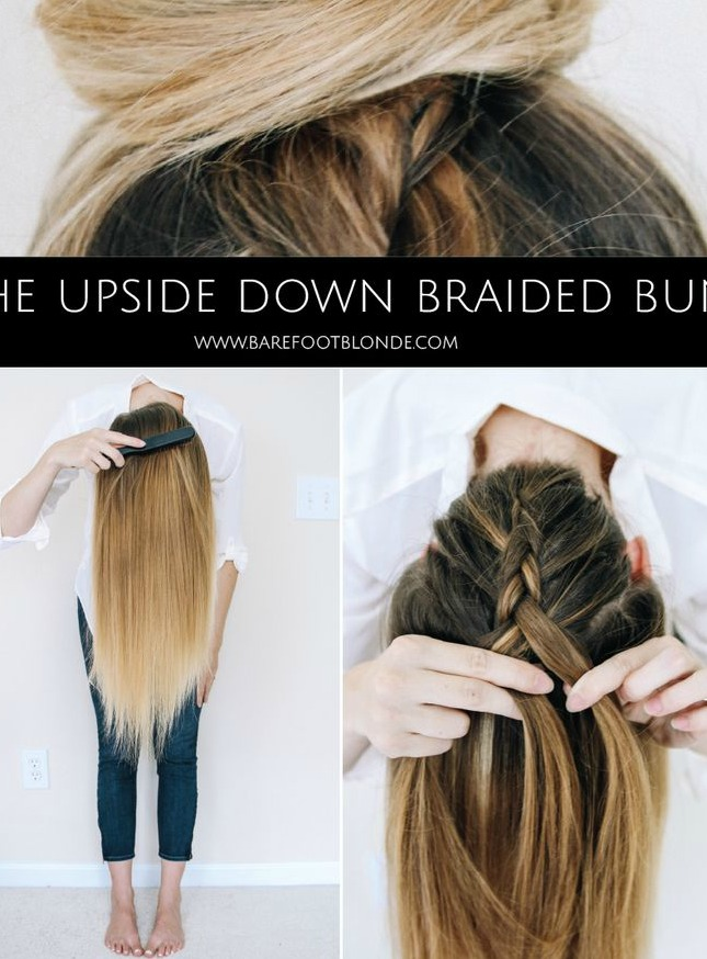 Upside-Down-Braid