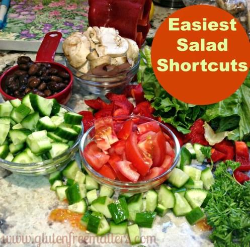 salad easy shortcuts