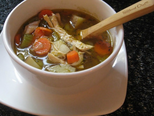 Cleansing-Chicken-Soup