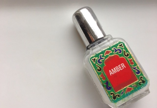 A Healthy Perfume Amber Oil