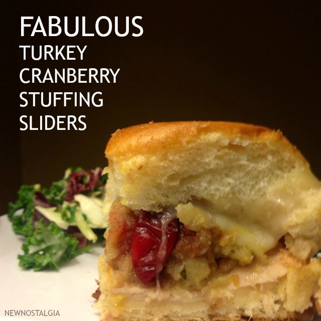 FABULOUS TURKEY CRANBERRY STUFFING SLIDERS