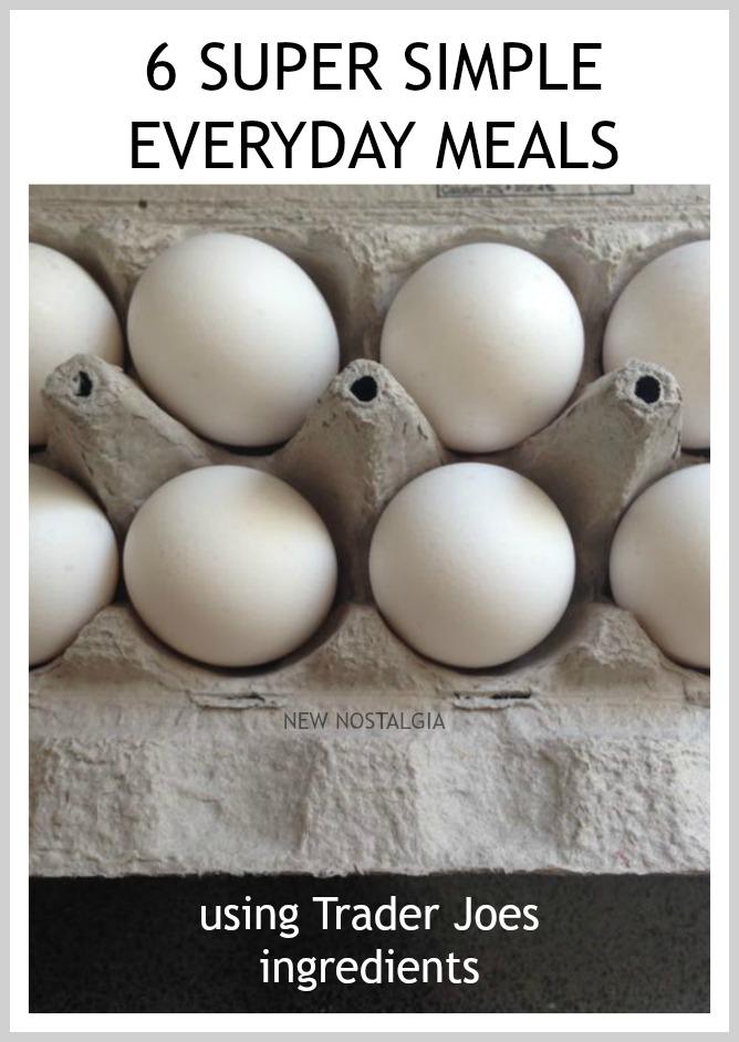 egg carton from Trader Joes