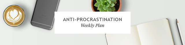 Anti-Procrastination Weekly Update