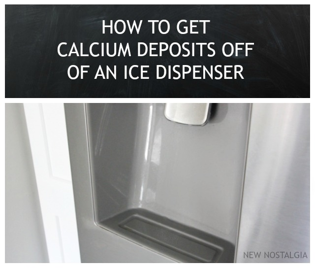 How To Get Calcium Deposits Off Of An Ice Dispenser + Keeping A ...