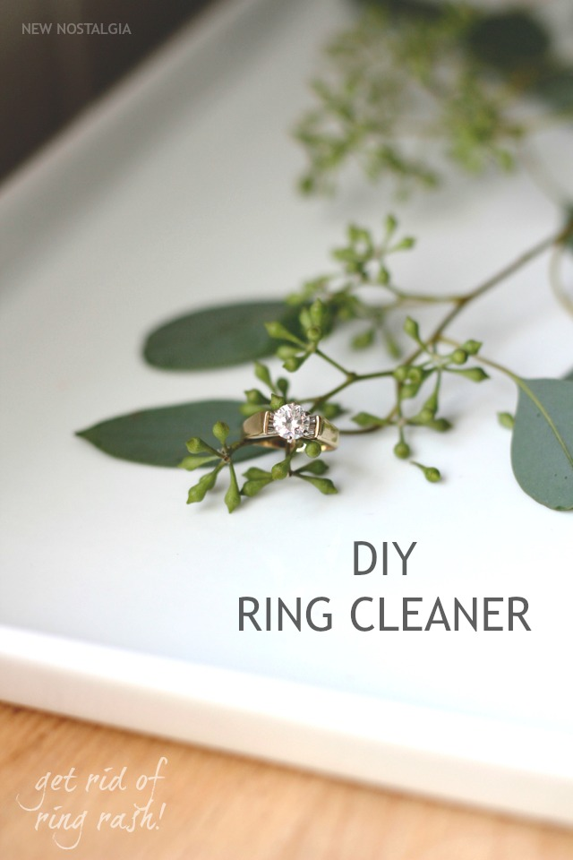DIY Ring Cleaner