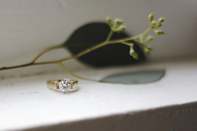 DIY Wedding Ring Cleaner