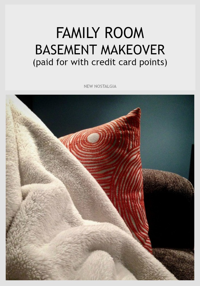 Basement Makeover With Credit Card Points