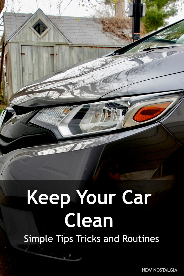 Simple Tips, Tricks and Routines To Keep Your Car Clean