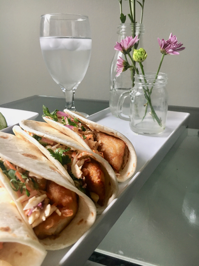 Baja Fish Tacos from Home Chef