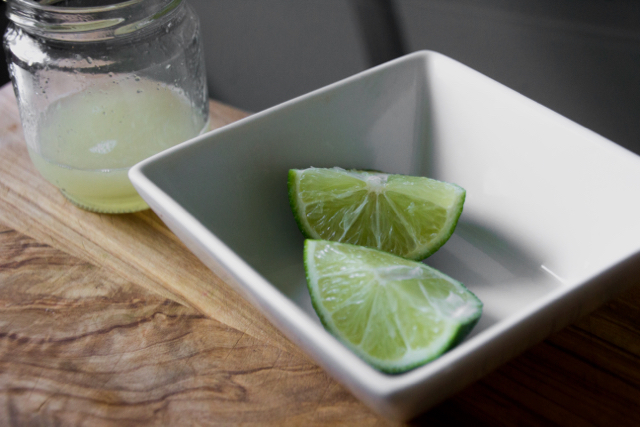 Limes from Home Chef