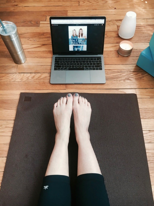 Abs Core & Pelvic Floor Exercise Program