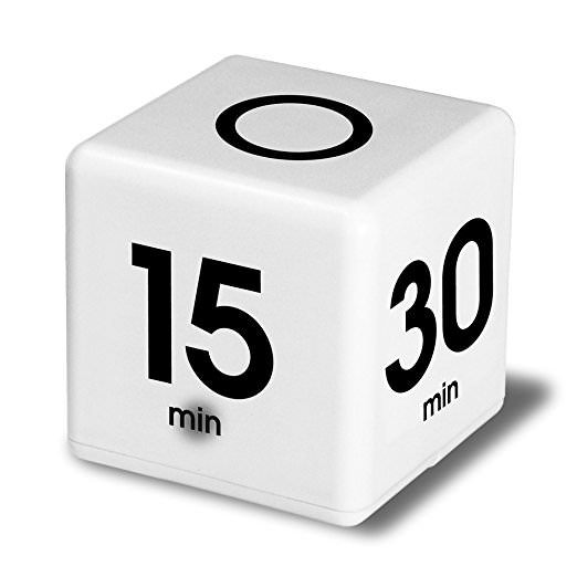 Cube Timer- Great for decluttering!