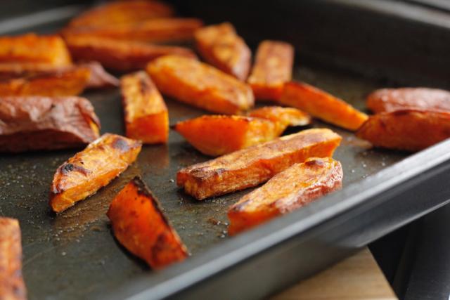 Oven Roasted Sweet Potato Fries