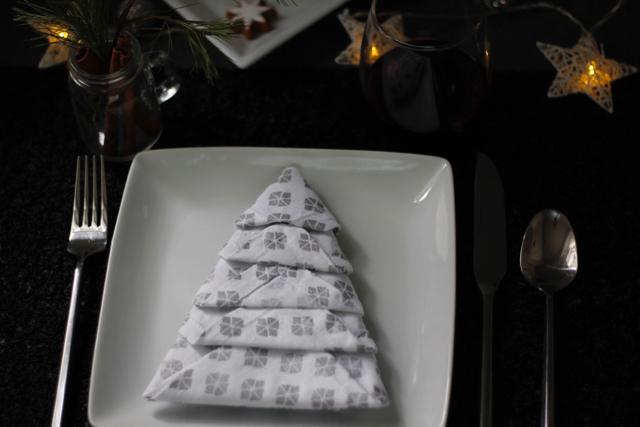 How To Fold Napkins Into Christmas Trees + Tips To Keep