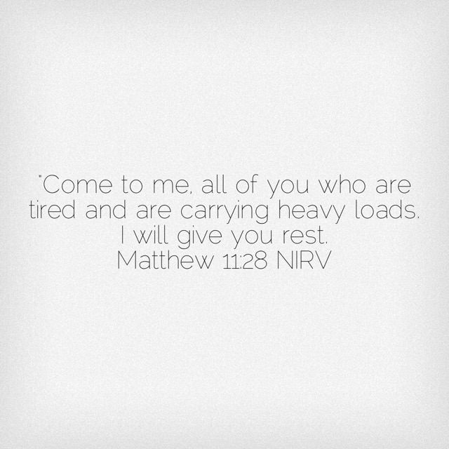 Matthew 11:29 Scripture Verse about rest.