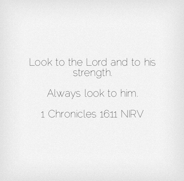 Chronicles Scripture Verse