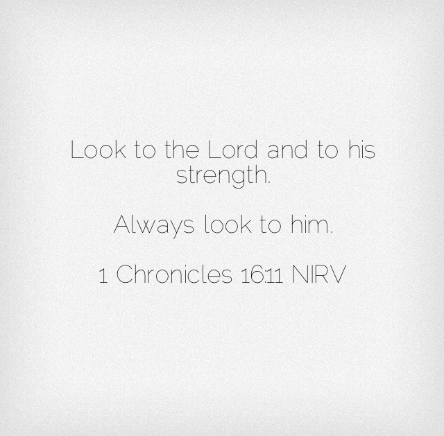Chronicles Scripture Verse
