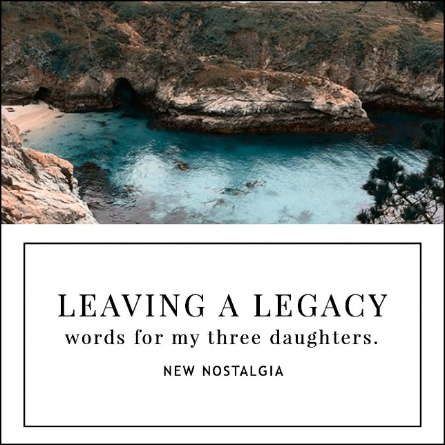 Words from a 2 time cancer survivor Mom to her 3 daughters. Sweet word of wisdom from Psalms.