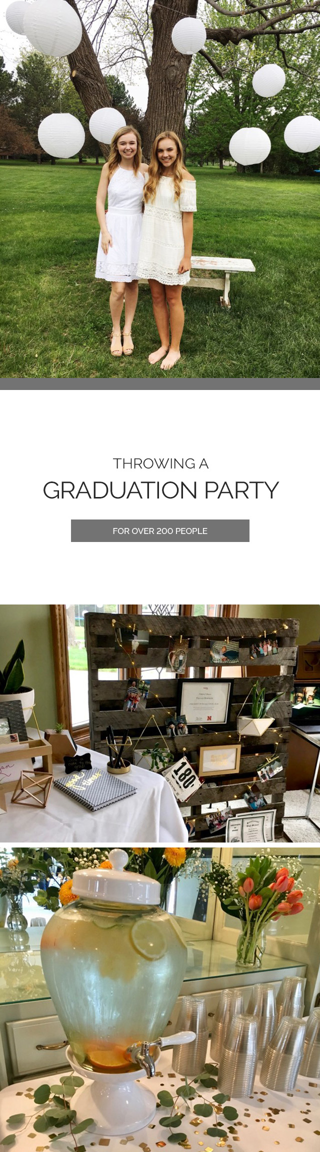 Graduation Party Decor