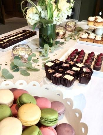 Graduation Dessert - Macaroons & Cupcakes