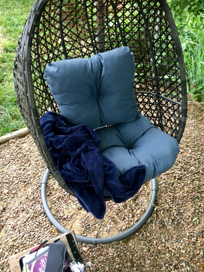 outdoor portable swing chair