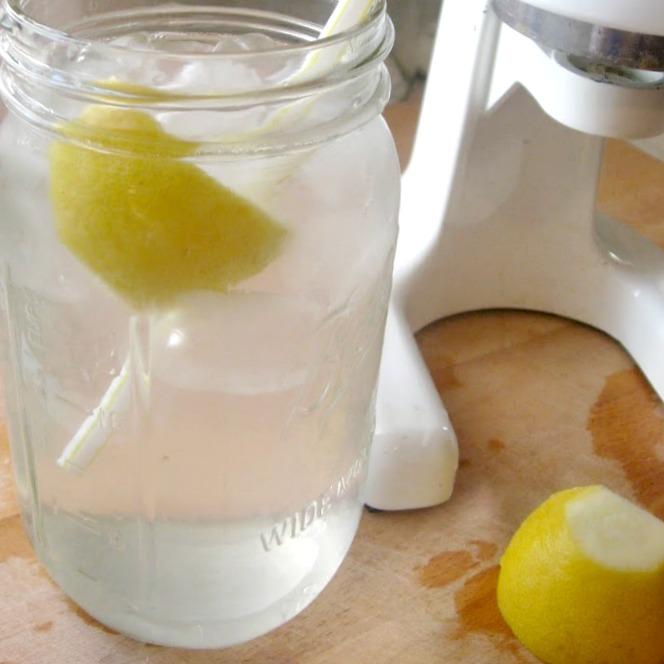 mason jar of water