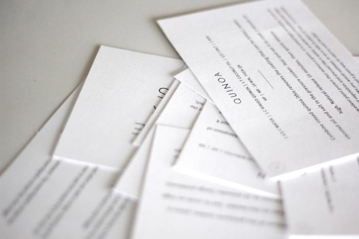 printed digital cards