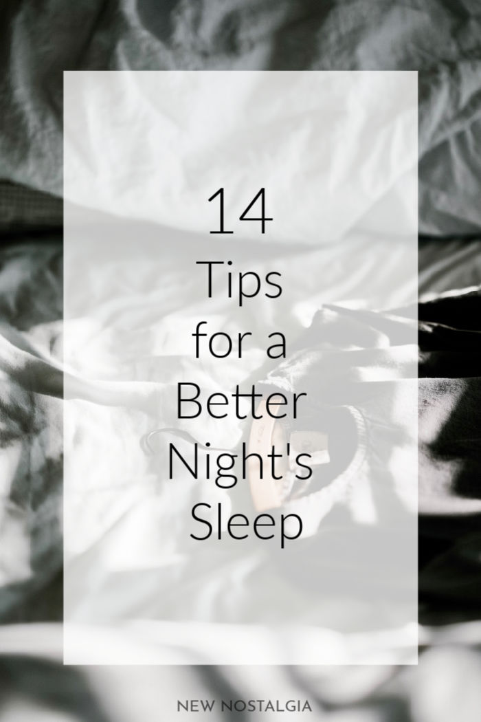 bed with rumpled sheets and 14 tips for a better night's sleep