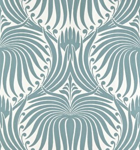 Farrow & Ball Lotus Large Papers - Blue