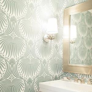 Farrow & Ball Lotus Large Wallpapers - GoldGreen