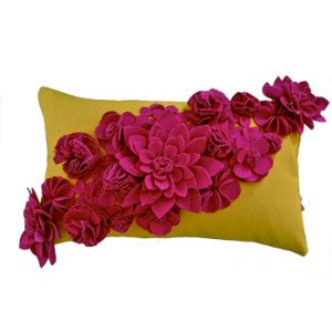 wool-felt-floral-cushion-in-raspberry-lemon