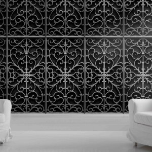 Young & Battaglia - Metal Gate Wallpaper